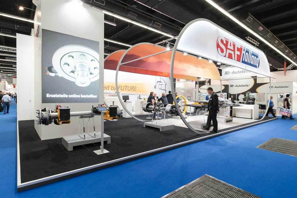 Individueller Messebau für SAF Holland auf der Automechanika