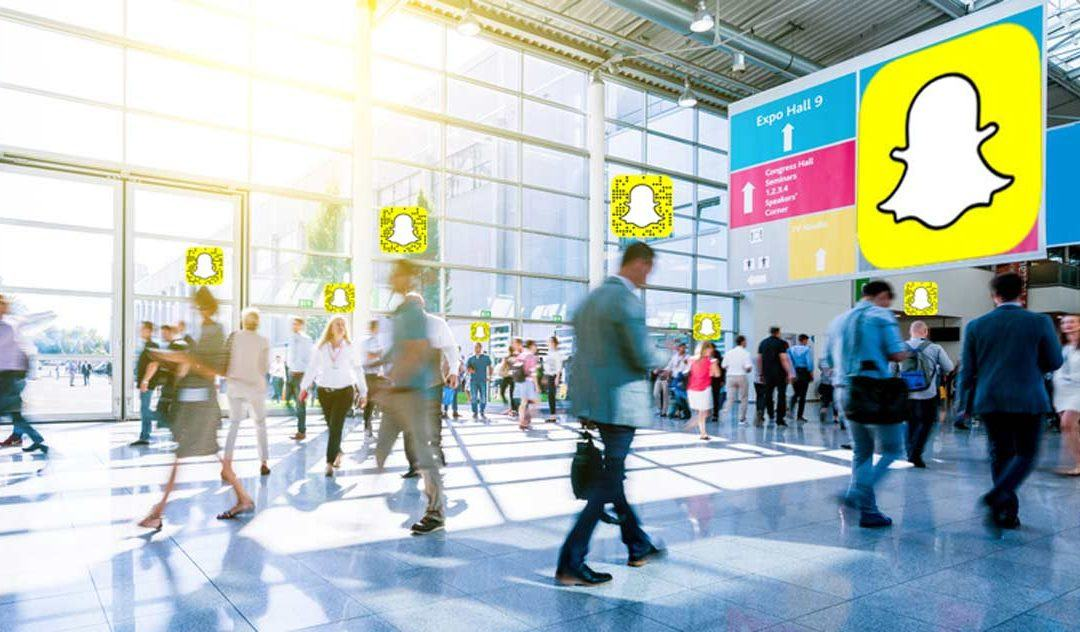 Snapchat auf Messen – der neue Trend?