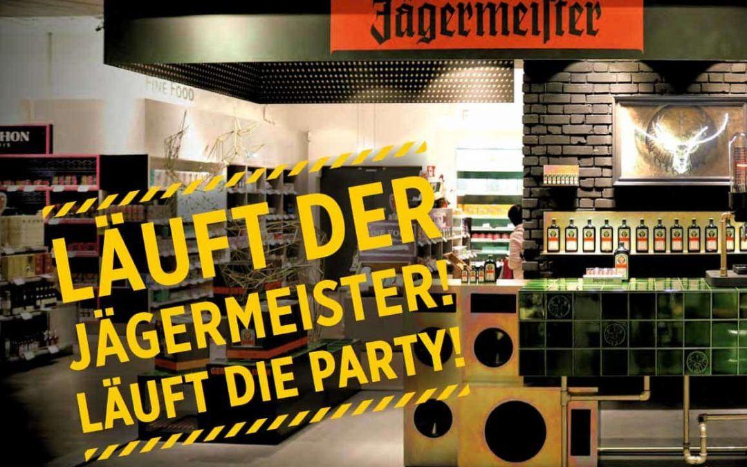 Travel-Retail-Promotion für Jägermeister