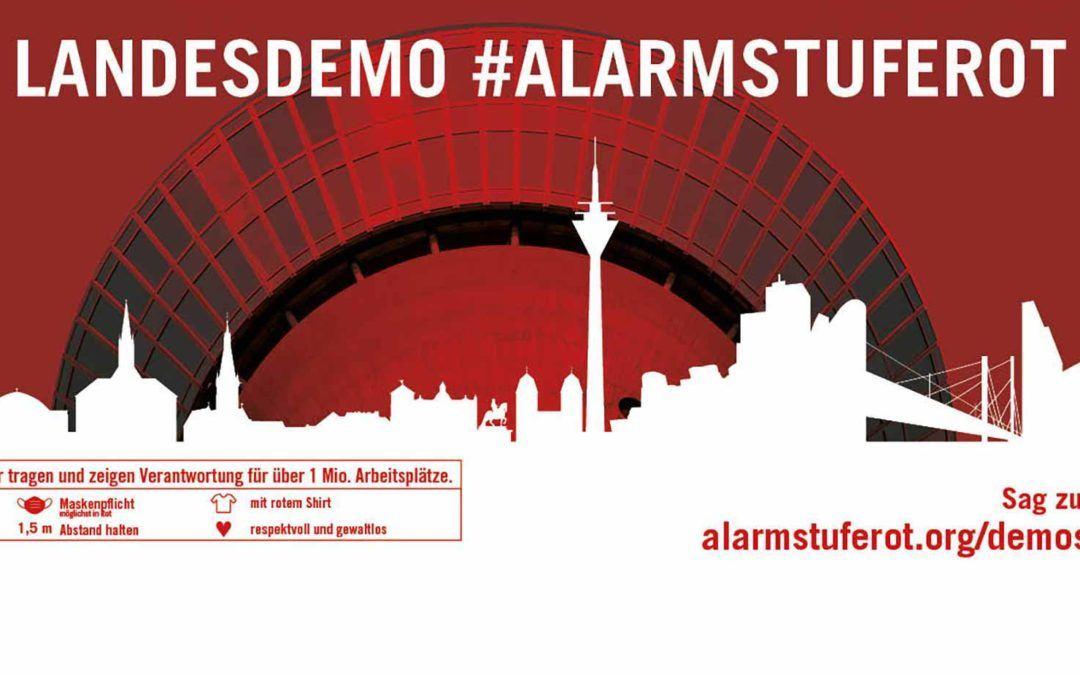 #AlarmstufeRot auch im Messebau!