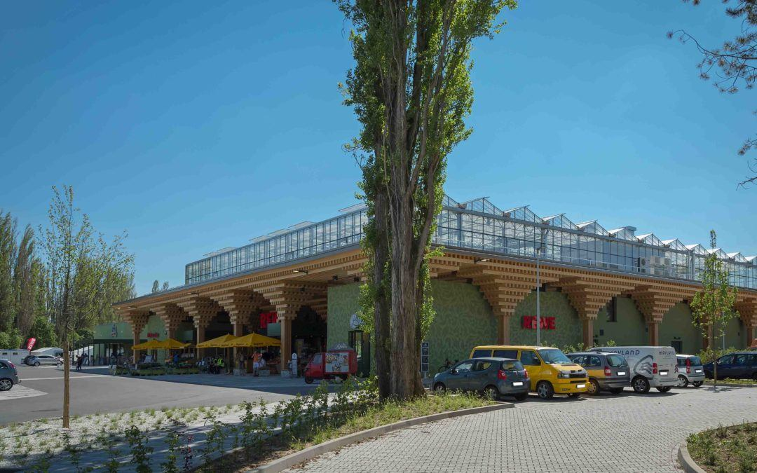 Perch meets basil: Sustainability at REWE Green Building